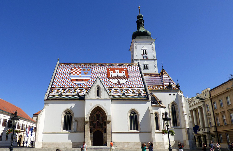 Saint Marko Church Zagreb Taxi transfer