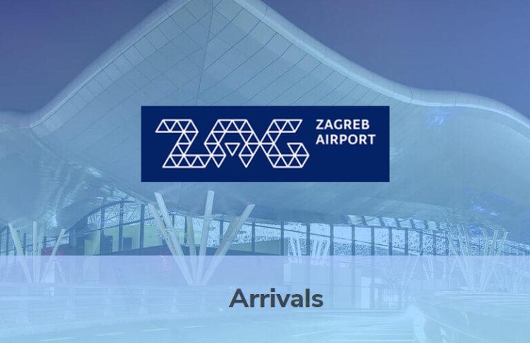 Zagreb Airport Arrivals